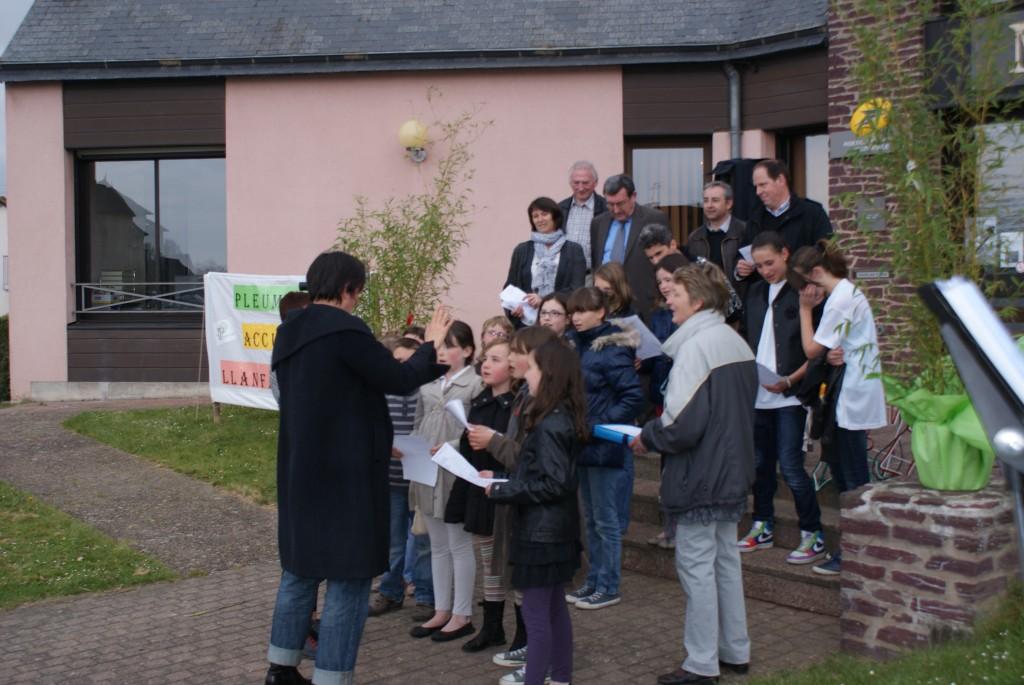Jumelage Pleumeleuc-Llanfairfechan : les enfants des écoles