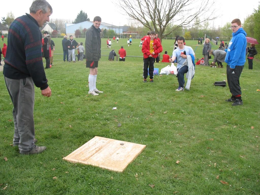 elage Pleumeleuc-Llanfairfechan : d'autres activités : le jeu de palets